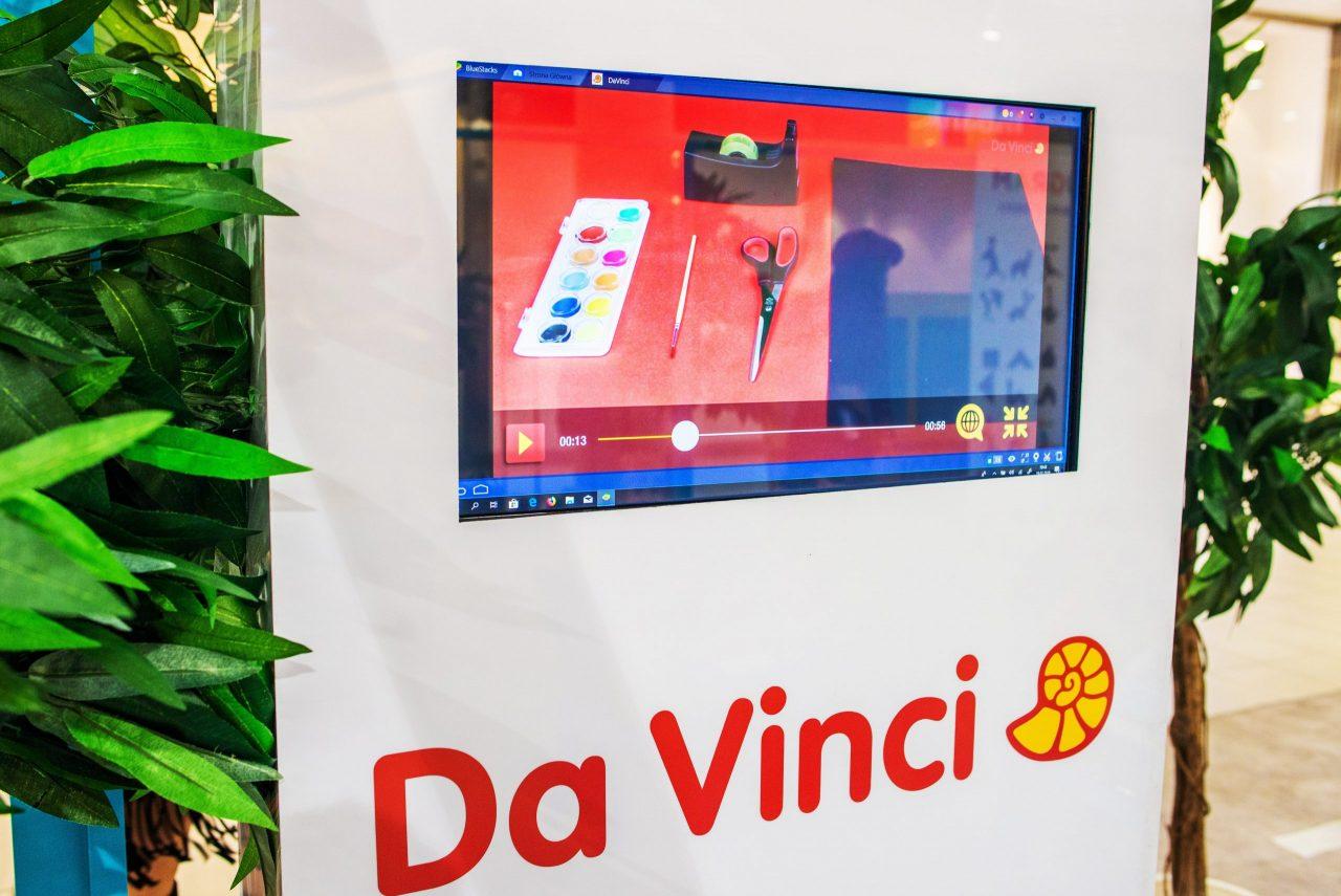 Davinci wystawa multimedialna dla dzieci