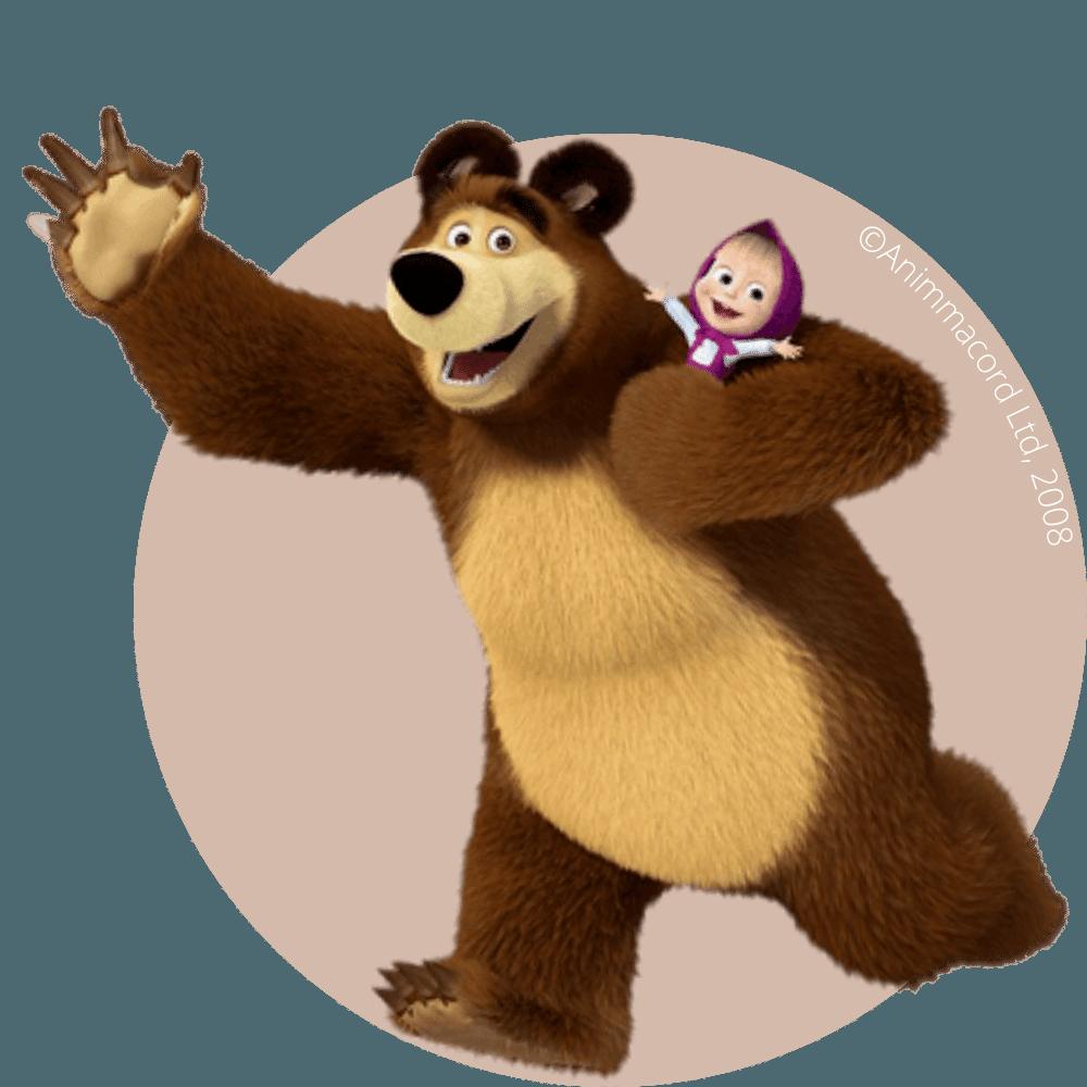 Masza i Niedźwiedź Licencja Wydarzenie